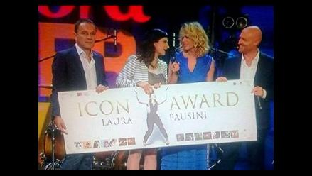 Laura Pausini es la primera artista en ganar el Icon Award