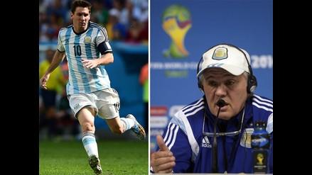 Alejandro Sabella: Holanda tiene a Robben y Argentina al mejor del mundo