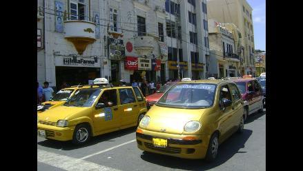 Chiclayo: más de 10 mil taxistas deberán estar habilitados