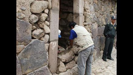Cusco: turistas en peligro ante posible colapso de muro incaico
