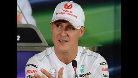 Michael Schumacher avanza ´lentamente´, según su esposa, Corinna