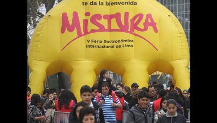 Estiman que unos 30 mil extranjeros asistirán a Feria Mistura 2014