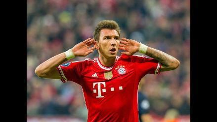 Bayern Múnich llega a acuerdo para traspaso de Mario Mandzukic al Atlético