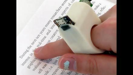 ´FingerReader´, el anillo que permite leer a personas con baja visión
