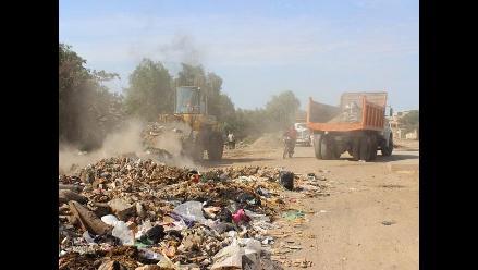 Chiclayo: habilitarán botadero para desmontes de construcción -