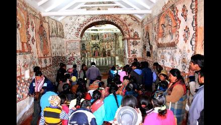 Cusco: cultura restauró capilla ubicada en Pitumarca-Canchis