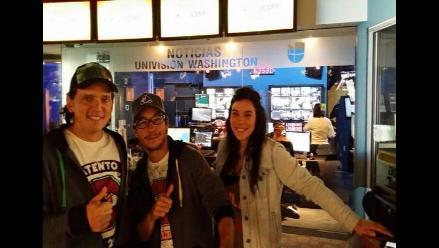 Univisión entrevistó a Laguna Pai en Washington DC
