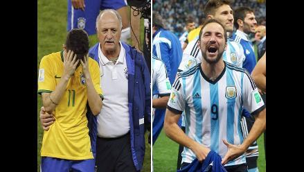 Argentina y todos los ritmos del ´Brasil, decime qué se siente´