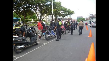 Iquitos: intervienen 970 vehículos en nueva modalidad de operativo