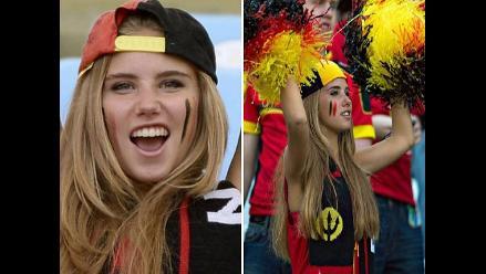 Axelle Despiegelaere, bella hincha de Bélgica que se convirtió en modelo