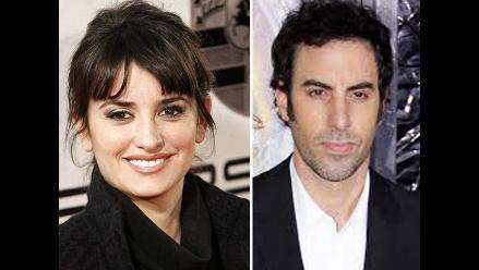Penélope Cruz actuará en comedia de Sacha Baron Cohen
