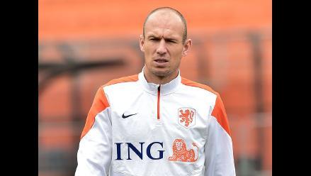 Robben dice que Argentina no tiene posibilidades de ganar a Alemania
