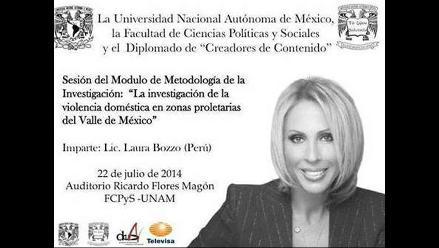 Laura Bozzo genera polémica por conferencia para estudiantes en México