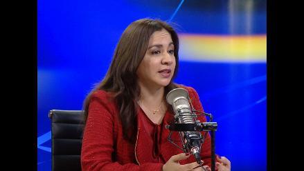Proponen candidatura de Marisol Espinoza a la Presidencia del Congreso