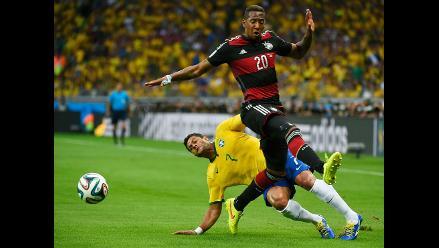 Brasil 2014: Jerome Boateng en duda para disputar la final con Alemania