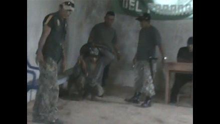 Yurimaguas: ronderos detienen y castigan a presunto delincuente