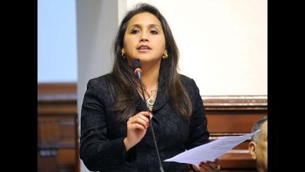 Solórzano será la candidata de Gana Perú para Presidencia del Congreso