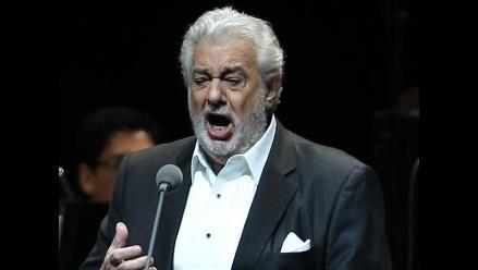 Plácido Domingo brindó concierto en Río a horas de la final del Mundial