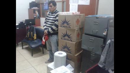 Ayacucho: decomisan gran cantidad de material explosivo