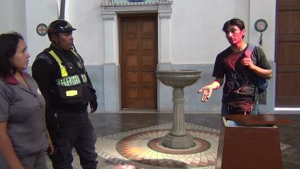 Áncash: intervienen a sujeto que intentó robar ofrendas de Catedral