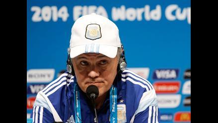 Alejandro Sabella: Vamos a darlo todo para que Argentina sea campeón otra vez