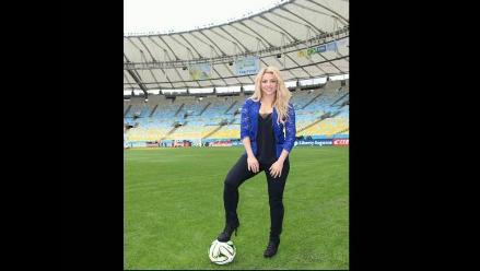 Shakira  recuerda cómo se enamoró de Piqué en el Mundial Sudáfrica 2010