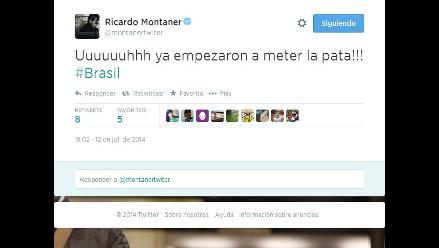 Brasil vs. Holanda: famosos tuitean sobre caída de equipo brasilero