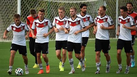 Brasil 2014: Así entrena Alemania para enfrentar a Argentina por la final