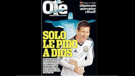 Prensa argentina pide a la Albiceleste y a Messi cumplir