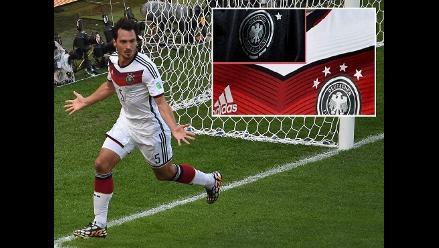Aún no juega la final, pero Alemania ya tiene su camiseta con 4 estrellas