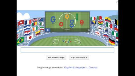 Google dedica nuevo doodle a la final del Mundial Brasil 2014