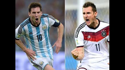 Alemania vs. Argentina: Un largo camino hacia la final Brasil 2014
