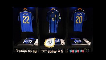 Alemania vs. Argentina: Todo está listo en el vestuario de la Albiceleste