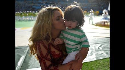 Milán Piqué: el hijo de Shakira se robó la final del Mundial