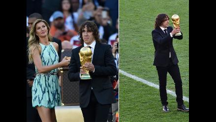 Alemania vs. Argentina: Así entregó la Copa del Mundo Carles Puyol