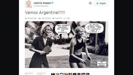 Alemania vs. Argentina: famosos gauchos alientan a su selección