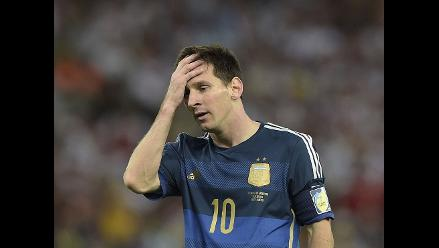 Lionel Messi falla su asalto al cetro mundial tras perder la final del Mundial