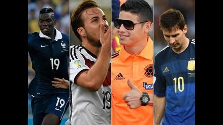 Conoce a todos los jugadores premiados tras el Mundial Brasil 2014