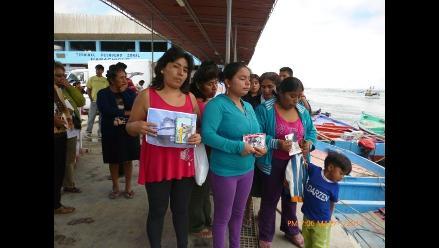 Pisco: familiares de pescadores desaparecidos piden no cesar la búsqueda