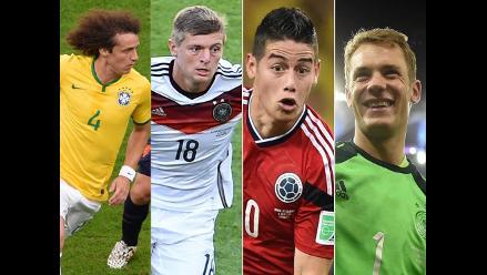 Sin Lionel Messi: Conoce el once ideal del Mundial Brasil 2014