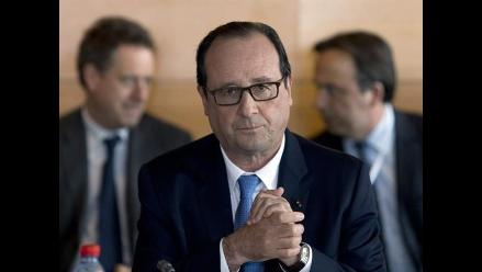 Hollande: Francia está a favor de la paz, no de Israel o de Palestina