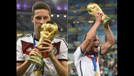 Jefferson Farfán felicitó a amigos de selección alemana por título mundial