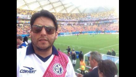 Camiseta del Deportivo Municipal estuvo presente en el Mundial