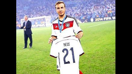 Alemania: Mario Götze le dedica la Copa del Mundo a Marco Reus