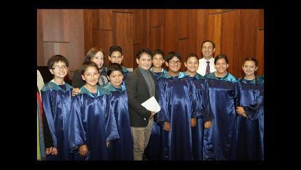 Coro Nacional de Niños presenta único concierto por Fiestas Patrias