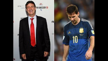 Kempes criticó duramente a Lionel Messi: No estuvo a la altura