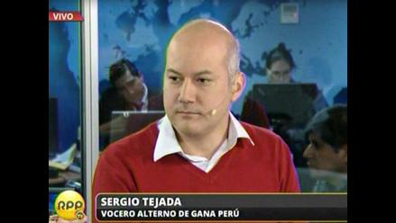 Tejada dice que Nadine Heredia no intervino en postulación de Solórzano