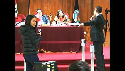 ¿Qué se dijeron Eva y Ariel Bracamonte en el careo en el juicio por el asesinato de su madre?