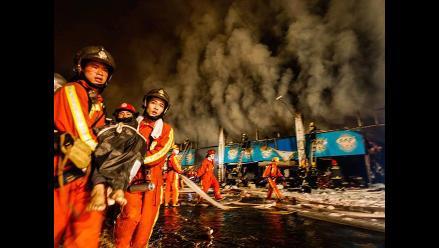 China: por lo menos dos muertos en la explosión de un autobús