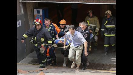Moscú: ascienden a 20 los muertos en descarrilamiento en el metro